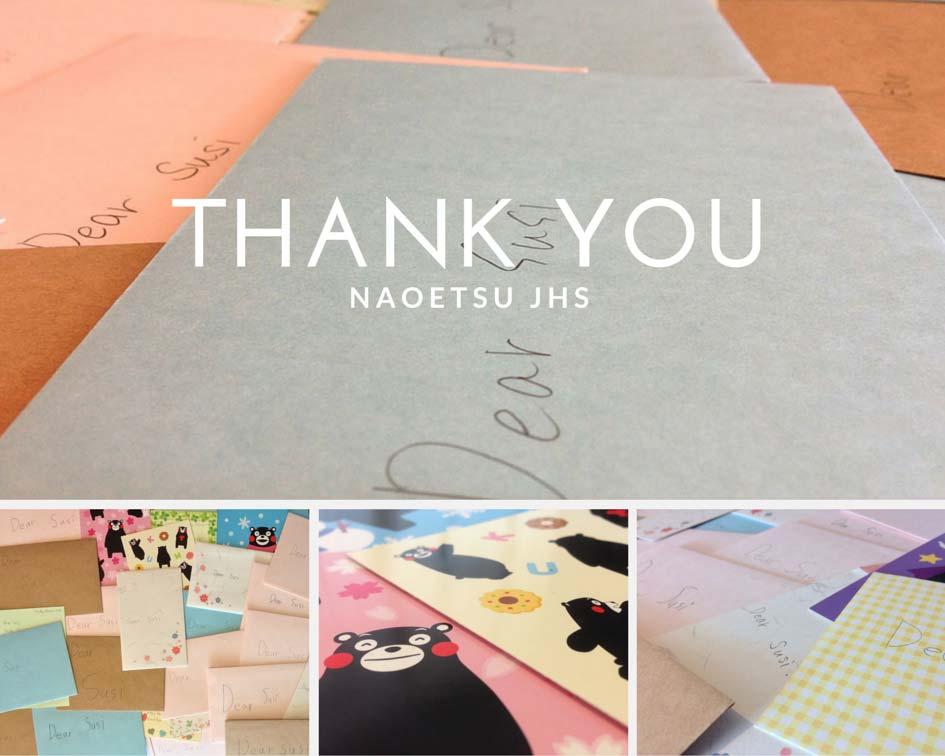 Thank you Naoetsu JHS