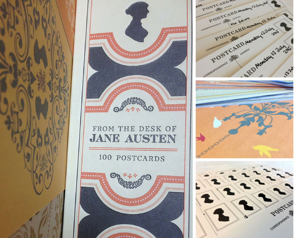 the jane austen postcards i used to write replies to naoetsu