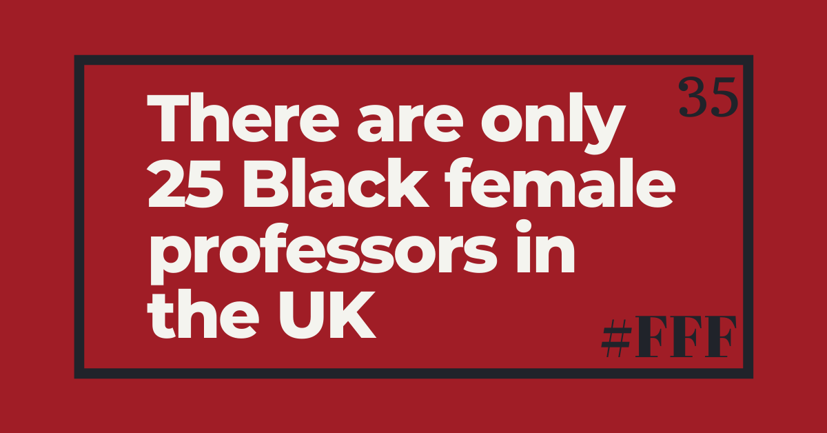 There are only 25 black female professors in the UK – Week 35